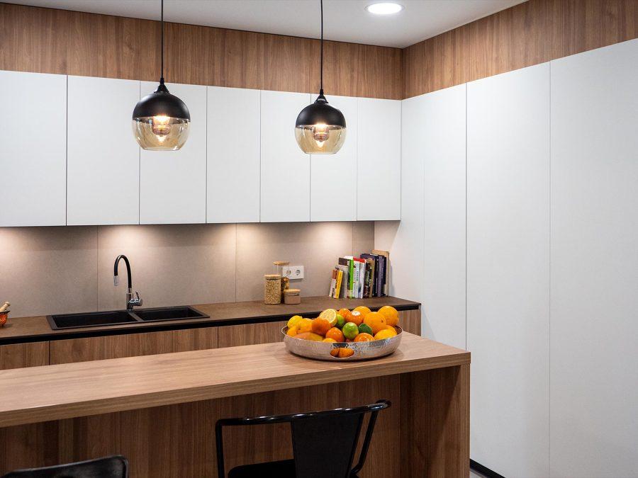 Cocina minimalista y funcional