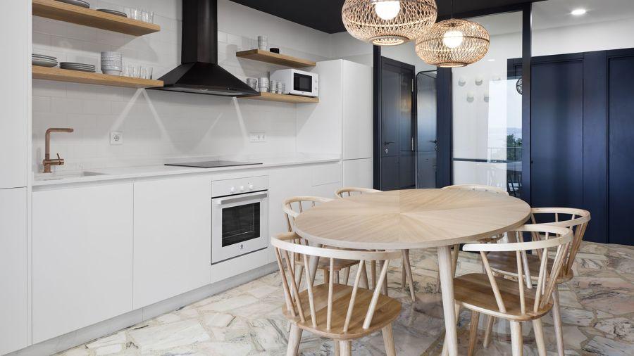 cocina minimalista y moderna