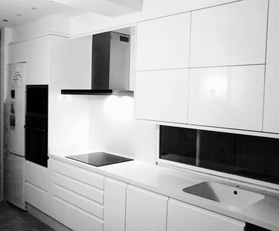 Cocina Blanca Brillo. Cheap With Cocina Blanca Brillo. Muebles De ...