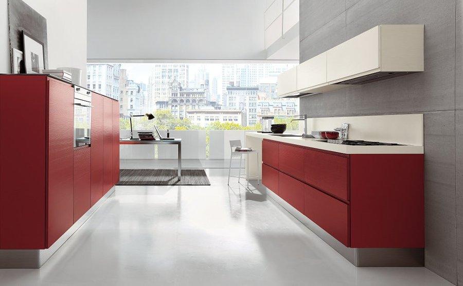 Cocinas rojas para cocinar con pasi n ideas decoradores - Cocinas rojas ...