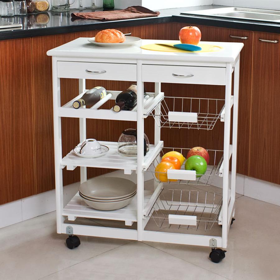 Ideas de decoraci n de muebles auxiliares de cocina for Muebles auxiliares para cocina