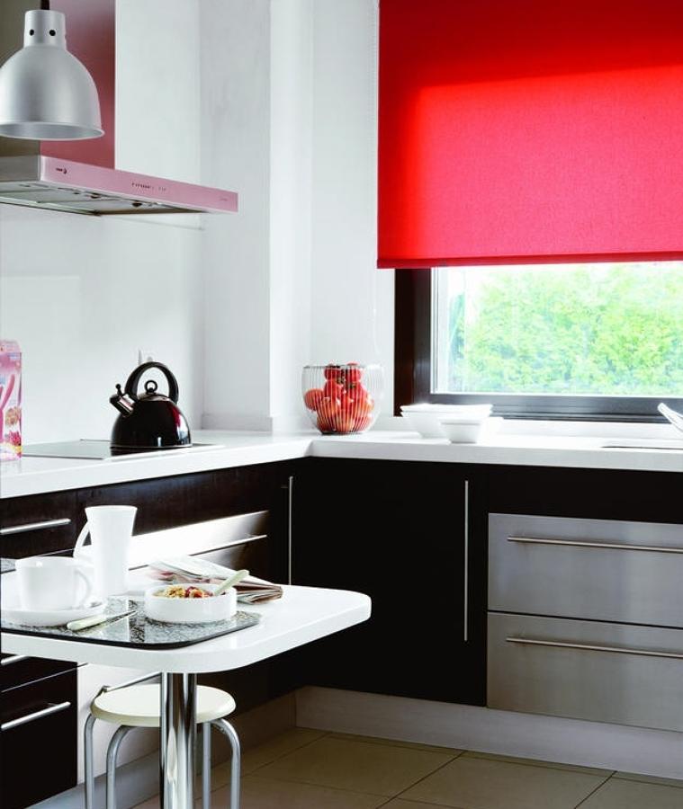 Cocinas rojas para cocinar con pasi n ideas decoradores for Cocinas modernas negras con rojo