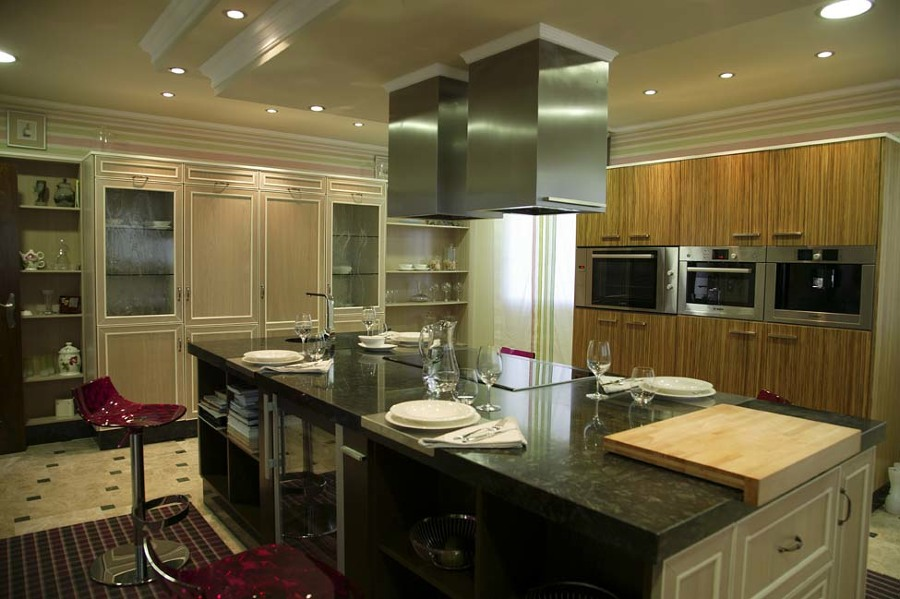 Cocina-Office en residencia familiar