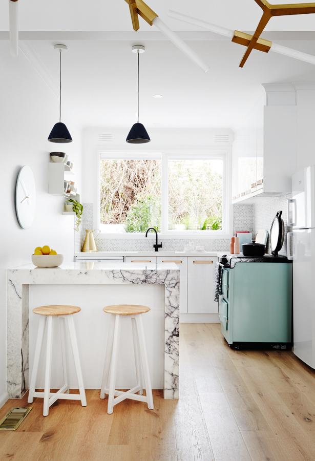 Una casa para dos ideas de reformas y decoraci n para for Proyecto cocina pequena