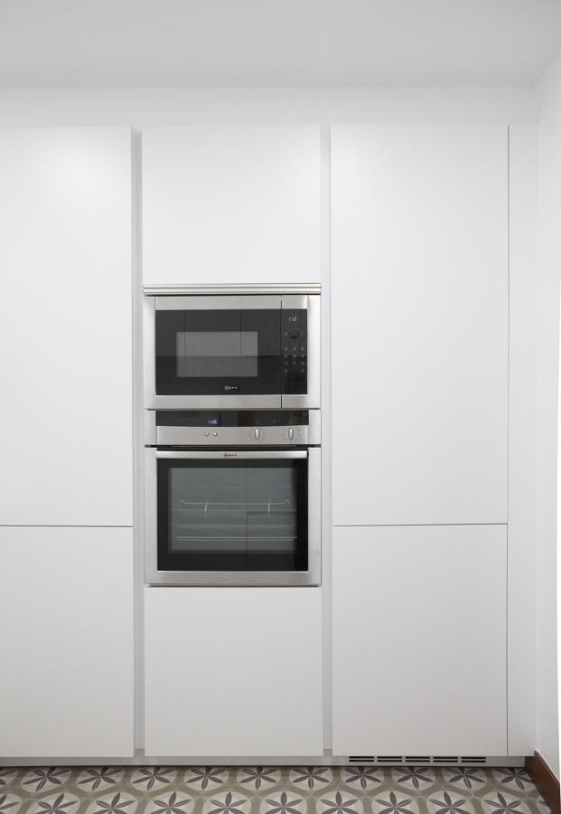Una cocina peque a y pr ctica ideas reformas cocinas for Cocinas pequenas y practicas
