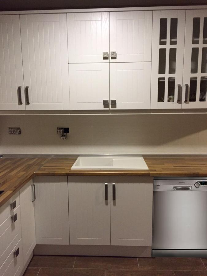 Cocina PVC blanca