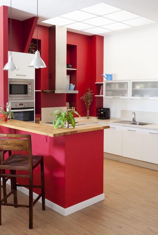 Cocina roja