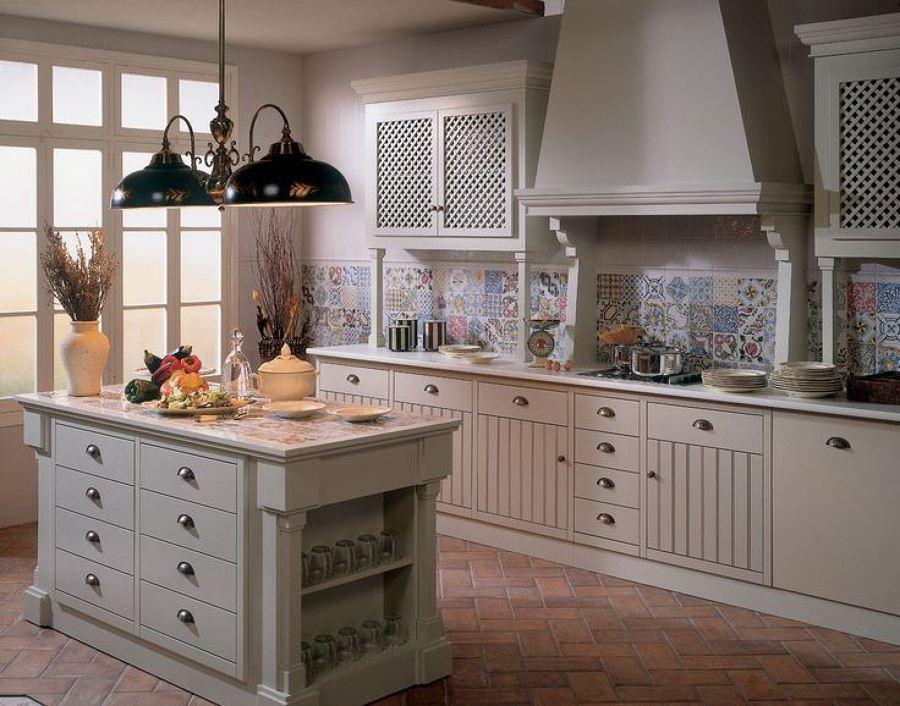 Foto cocina rom ntica 970753 habitissimo - Azulejos hidraulicos cocina ...