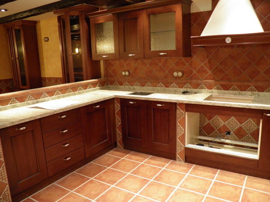 Cocinas ideas construcci n casas - Cocina rustica de obra ...