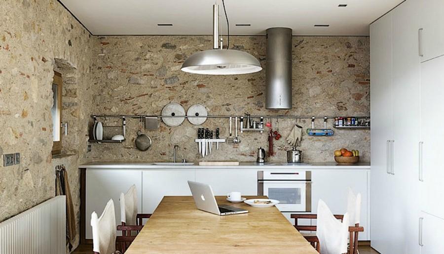 Slow home 6 claves para tener una casa confortable y - Cocinas de obra rusticas ...