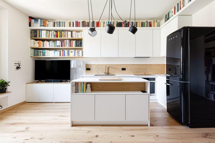 Cocina, salón y comedor integrados