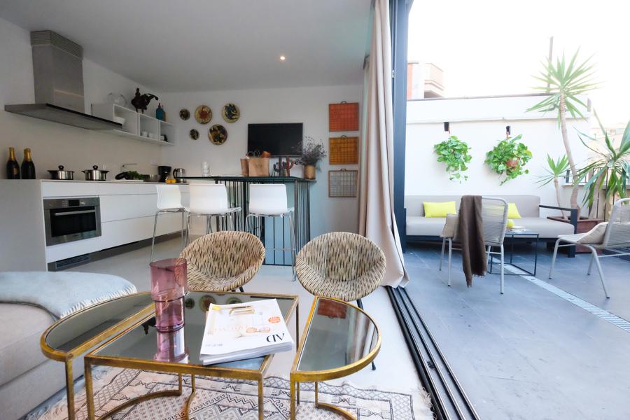 Foto cocina terraza sal n de mig 1071468 habitissimo for Cocinas en terrazas