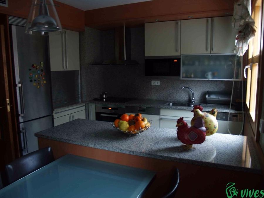 Cocina totalmente reformada en Zaragoza