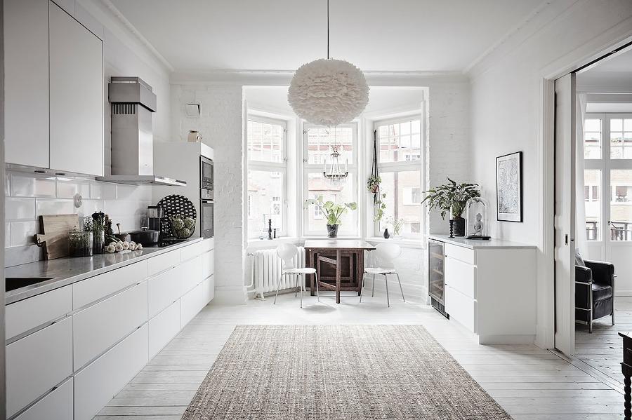 8 ideas para integrar tu cocina en el sal n ideas - Puertas correderas para salon ...