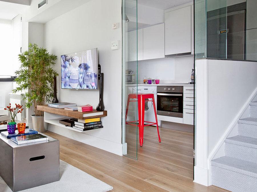 6 casas mini distribuidas en un solo espacio ideas for Separacion cocina salon