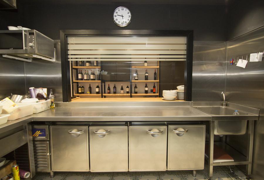 Cocina - Zona de preparación