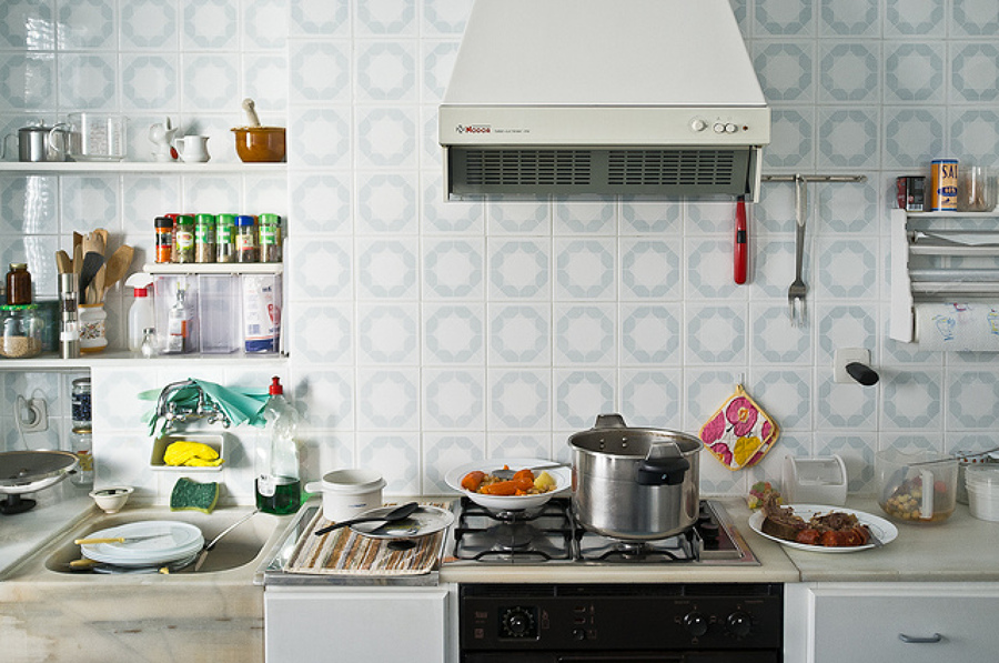 C mo limpiar m s r pido la cocina ideas construcci n casas - Como limpiar la casa rapido ...