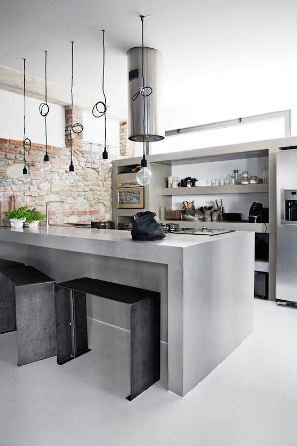 C mo reformar tu cocina sin quitar los azulejos ideas for Cocinas industriales modernas