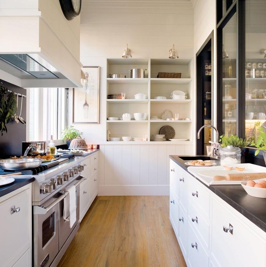 Blanco y negro el yin y el yang de las cocinas ideas - Cocinas ourense ...