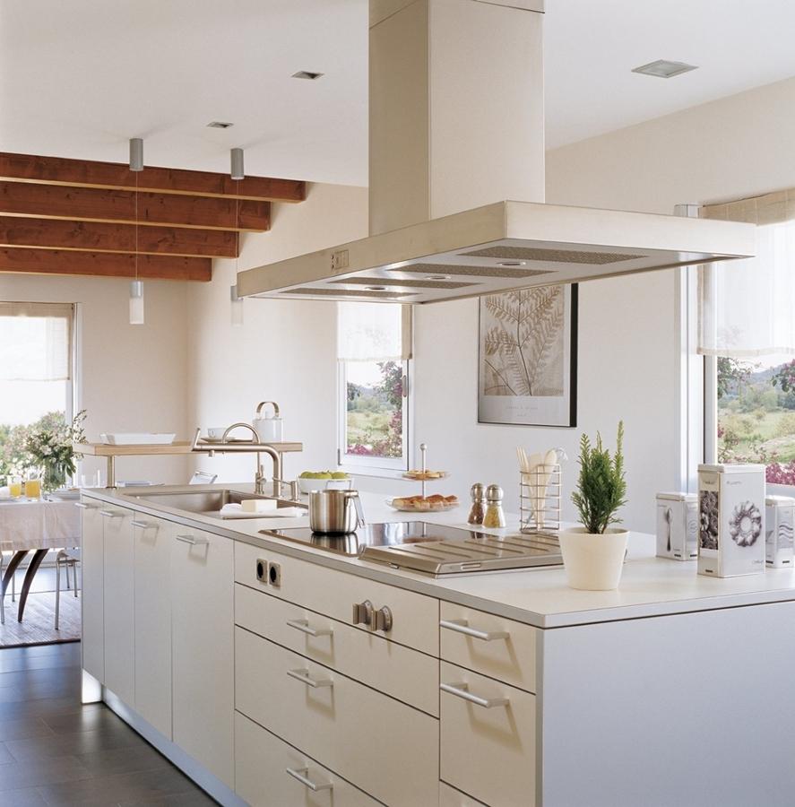 Blanco y negro el yin y el yang de las cocinas ideas decoradores - Cocinas ourense ...