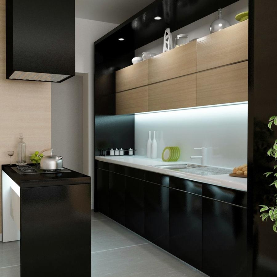 Blanco y negro el yin y el yang de las cocinas ideas decoradores - Cocinas en blanco y negro ...