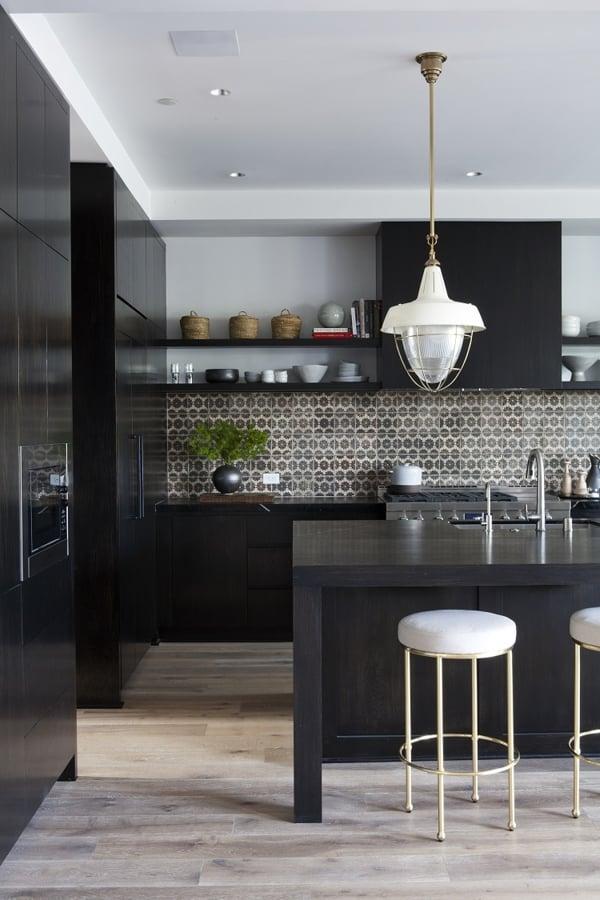 Foto Cocinas Negras De Elenatorrente D 237 Az 822505
