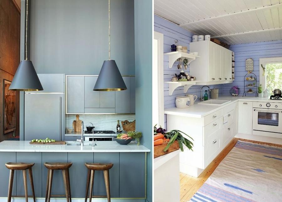 Foto cocinas azules de miriam mart 859109 habitissimo - Cocinas verdes y blancas ...