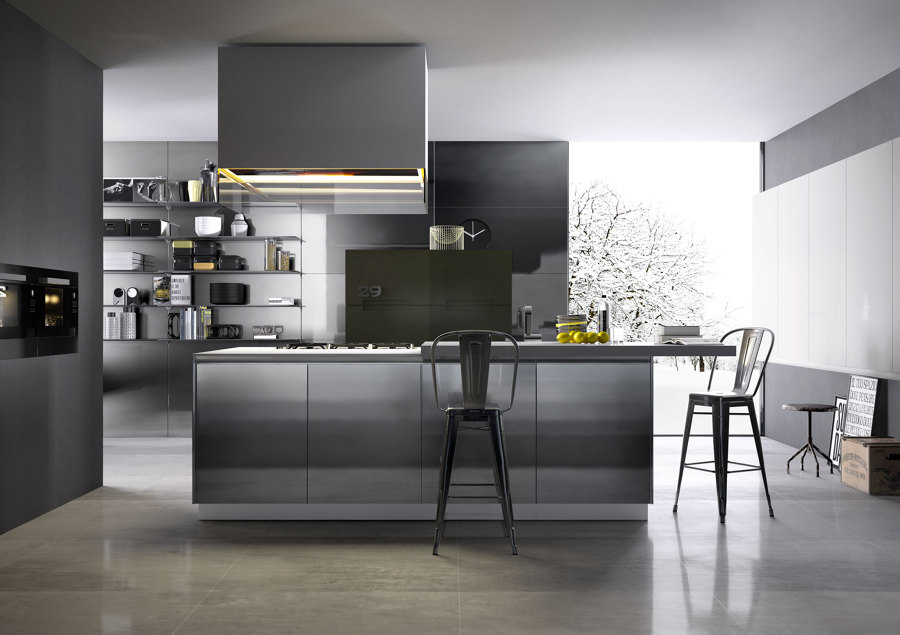 Foto cocinas varios proyectos interiorismo 3d de io for Proyectos de cocina easy