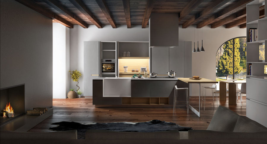 Foto cocinas varios proyectos interiorismo 3d de io - Interiorismo valladolid ...