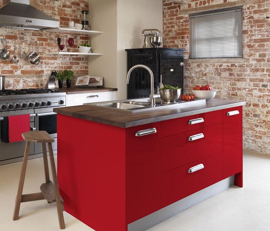 Cocinas Rojas para Cocinar con Pasión   Ideas Decoradores