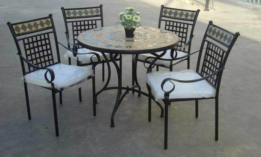 C mo usar forja en nuestro jard n ideas art culos decoraci n for Mesas y sillas de forja