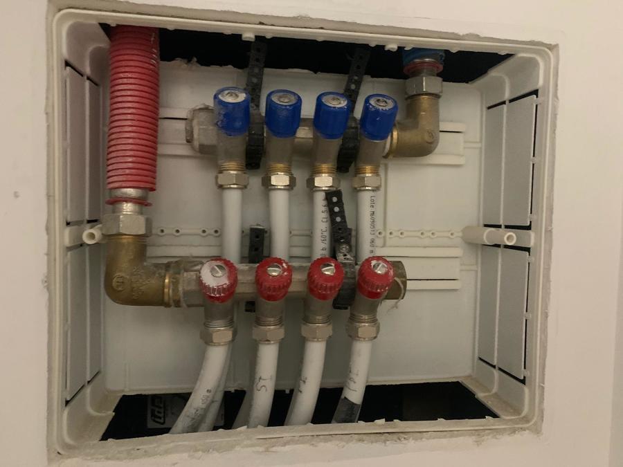 Colector de calefacción 4 anillos