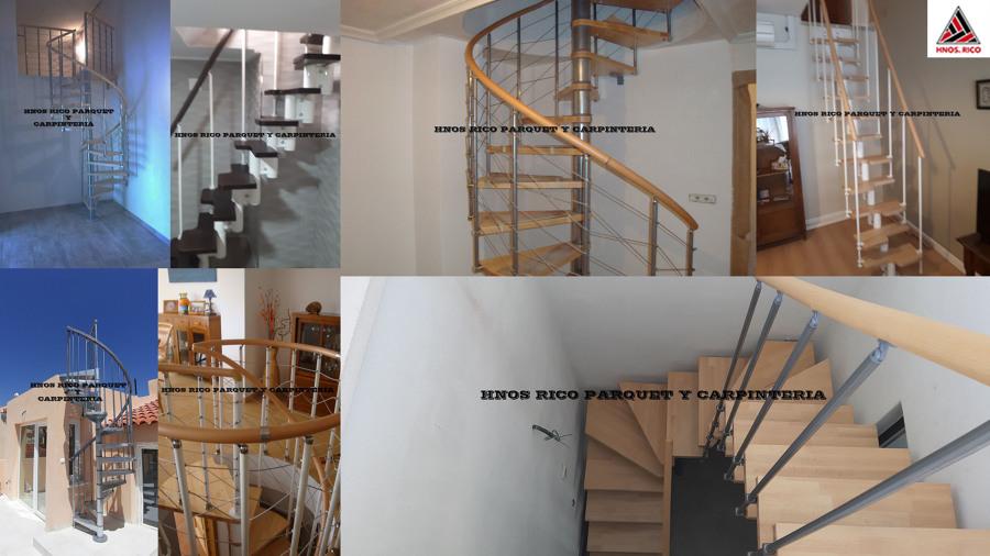 collage Montaje escaleras HNOS RICO