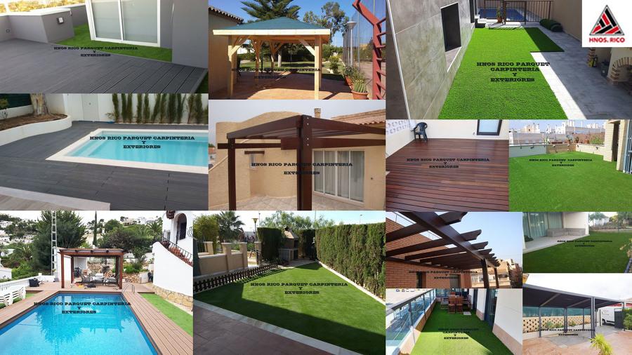 collage trabajos exterior HNOS RICO