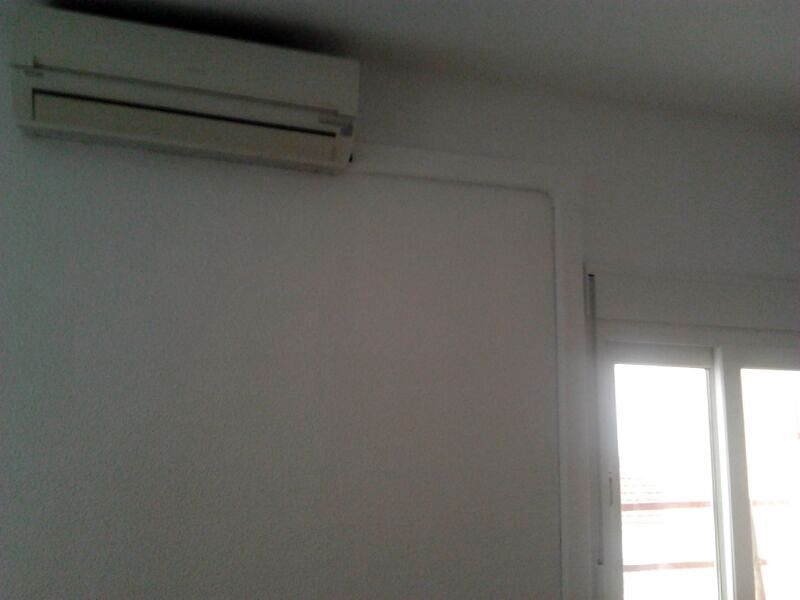 Colocación aire acondicionado