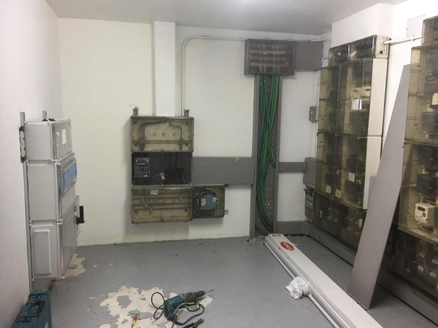 Colocación armario de medida