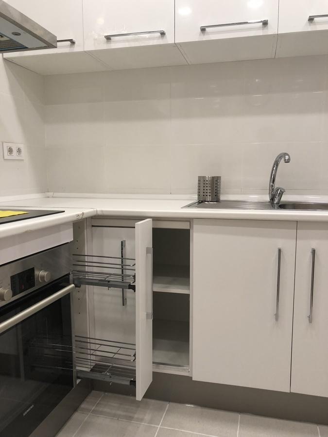 Colocación de los muebles de cocina