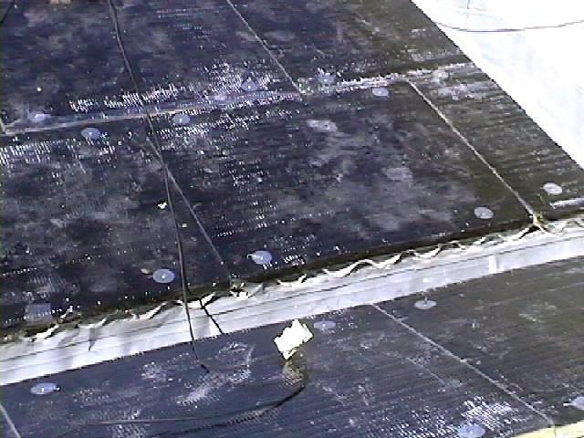 Colocacion de paneles de lana de roca