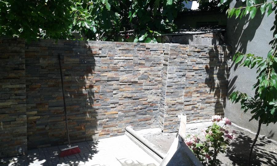 Muros de piedra natural cool en las islas con disposicin - Muros de piedra natural ...