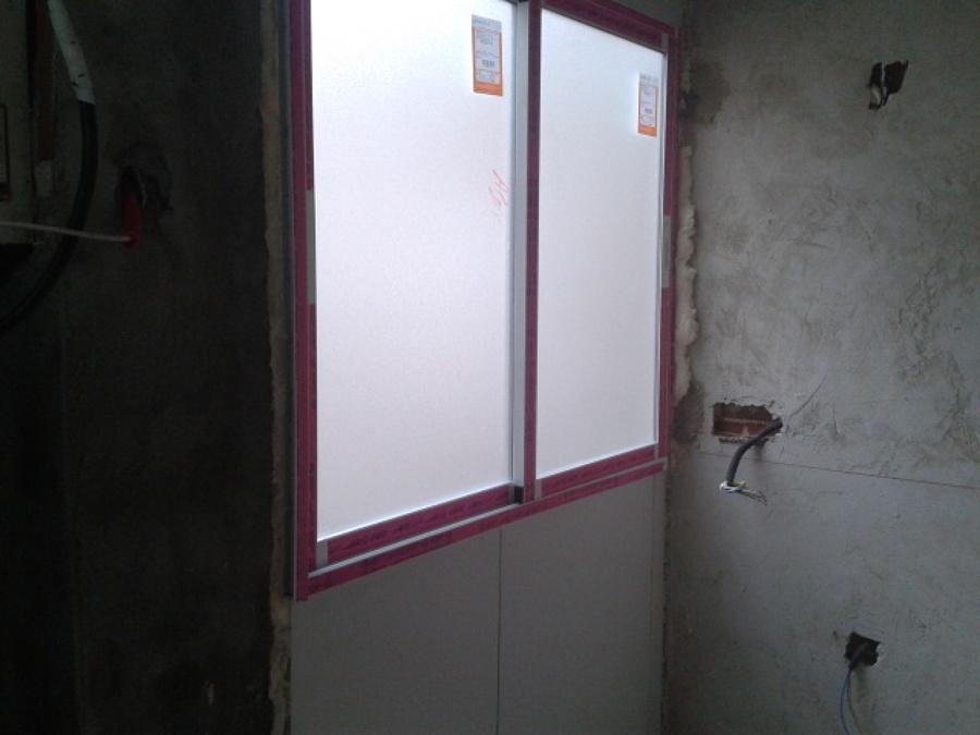 Colocación de ventana