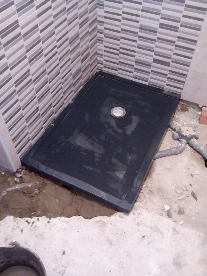 Colocacion placa ducha