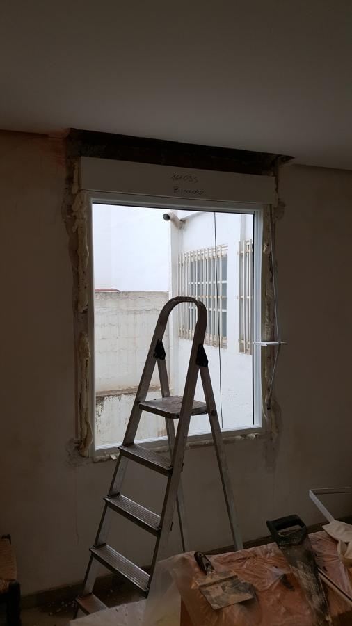 Alisado de paredes y techos del piso y cambio de 3 - Presupuesto cambio ventanas ...