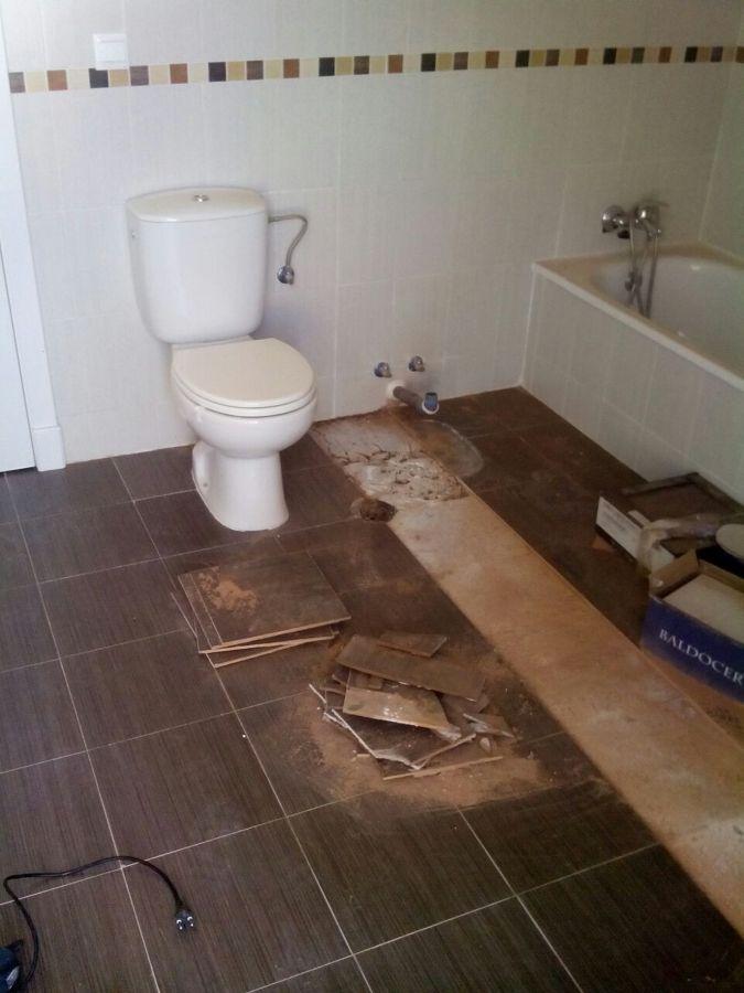 Lavadora empotrada ideas reformas ba os - Instalar lavadora en bano ...