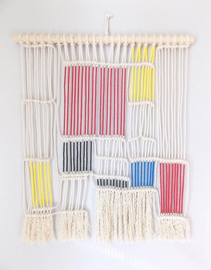 Tejer ya no es cosa de abuelas elabora tu propia cortina for Cortinas ya hechas baratas