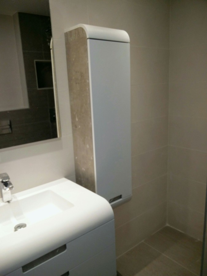 columna de baño