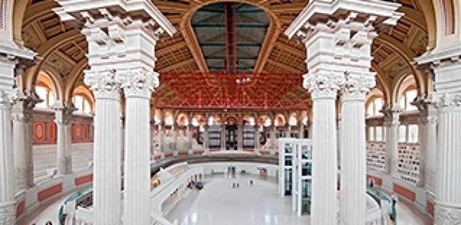 Columnas sala principal