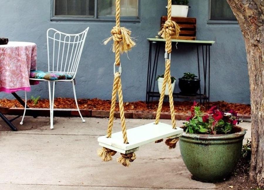 Cómo Realizar un Columpio en el Jardín | Ideas Jardineros