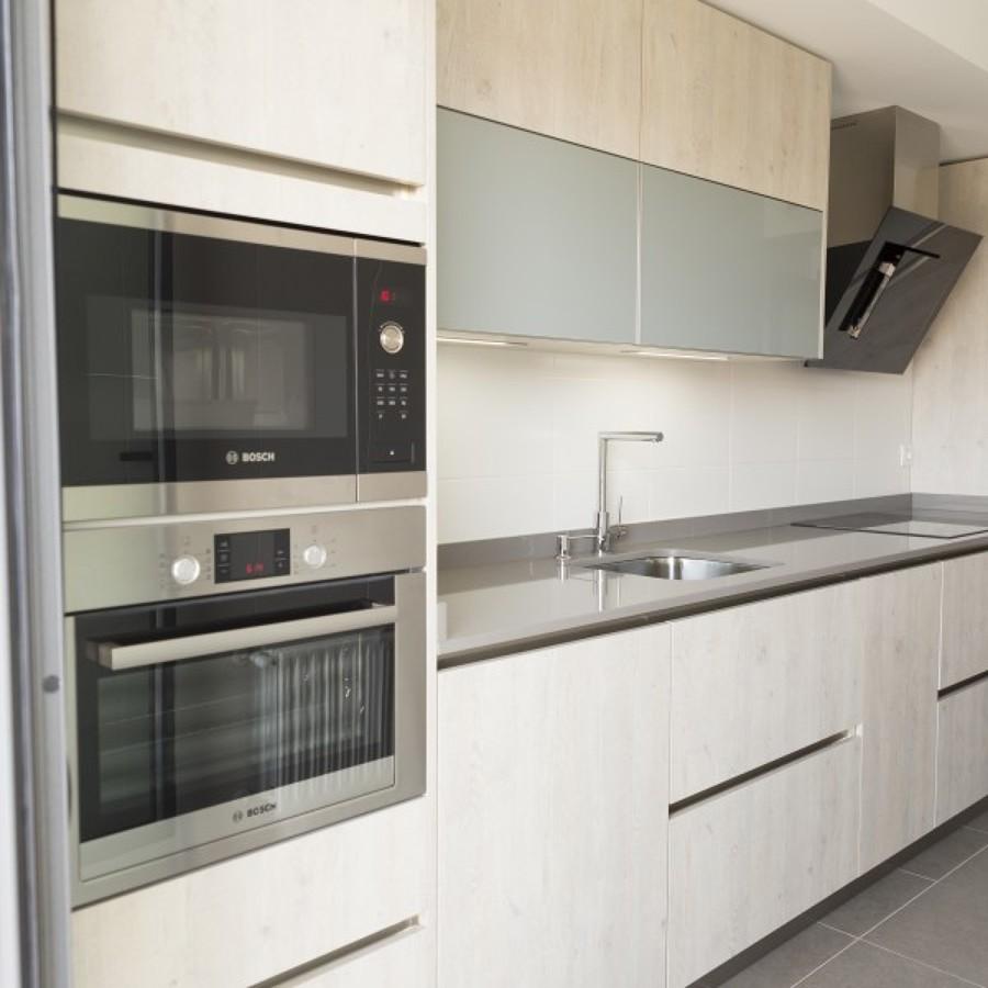 Combinacion de muebles y electrodomésticos