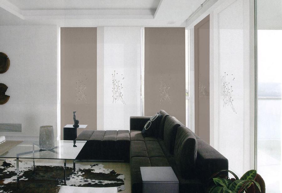 Cortinas y estores protege tu casa con estilo ideas - Cortinas para un salon moderno ...