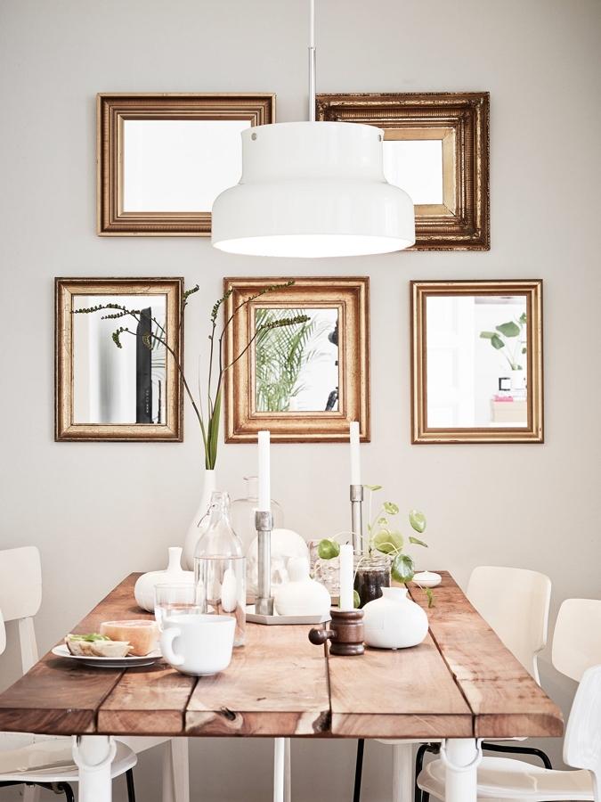 Soluciones pr cticas para comedores peque os ideas for Espejos horizontales para comedor